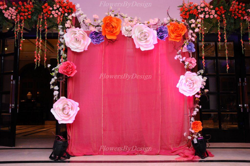 Paper Flower Decoration Bangalore