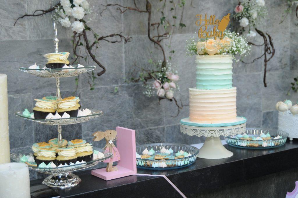 Rustic wedding cake - Flower Decoration Bangalore