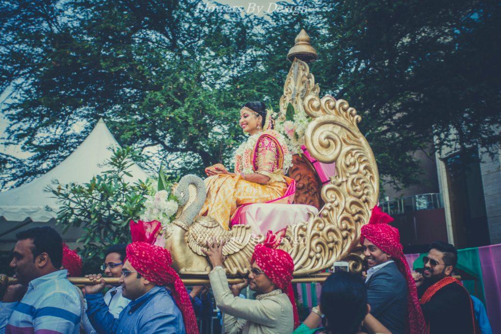 Bride entry - Wedding Decorators in Bangalore