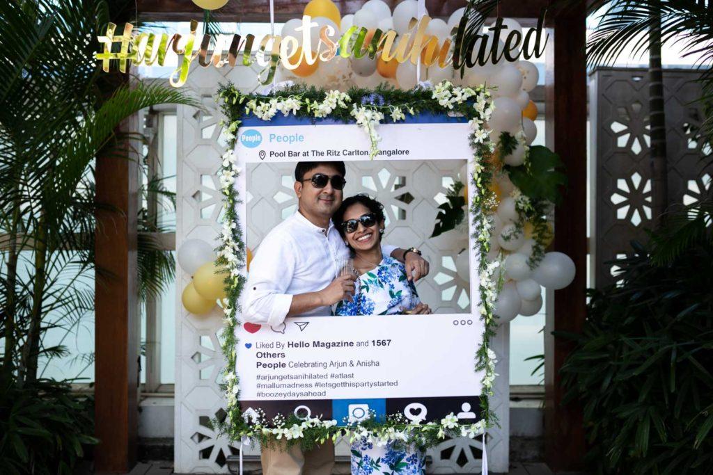 Couple Banner - Wedding Backdrop Decoration