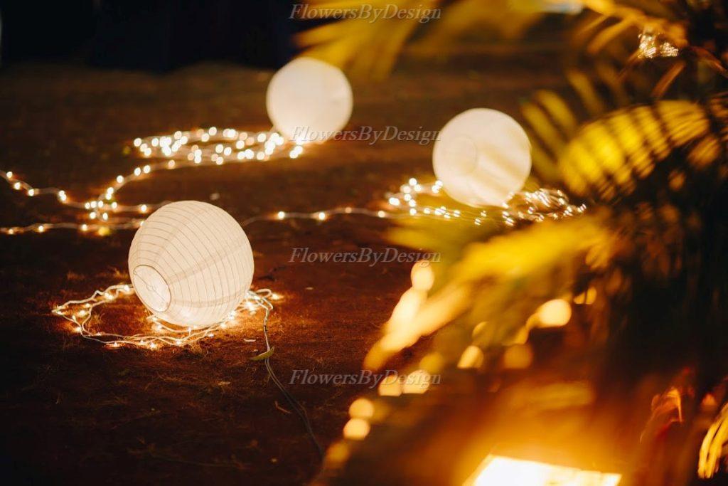 Outdoor Garden light - Flower Decoration In Marriage