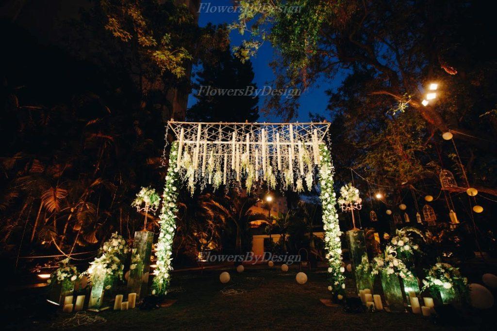 Outdoor Gardening Wedding Decorators in Bangalore