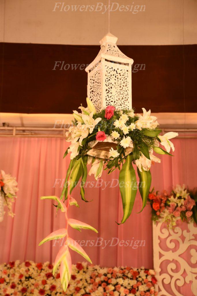 White Flower bouquet - Flower Decoration Bangalore