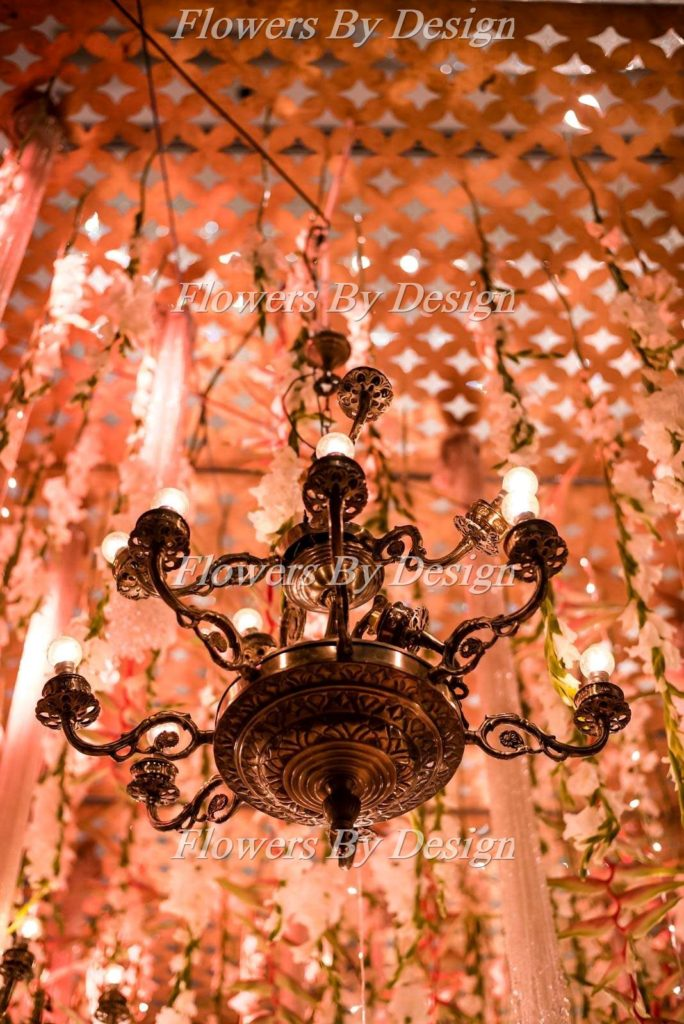 Lighting Flower Decoration In Marriage
