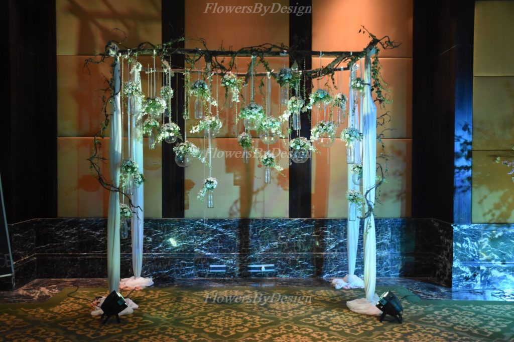 Outdoor Flower Decoration In Marriage