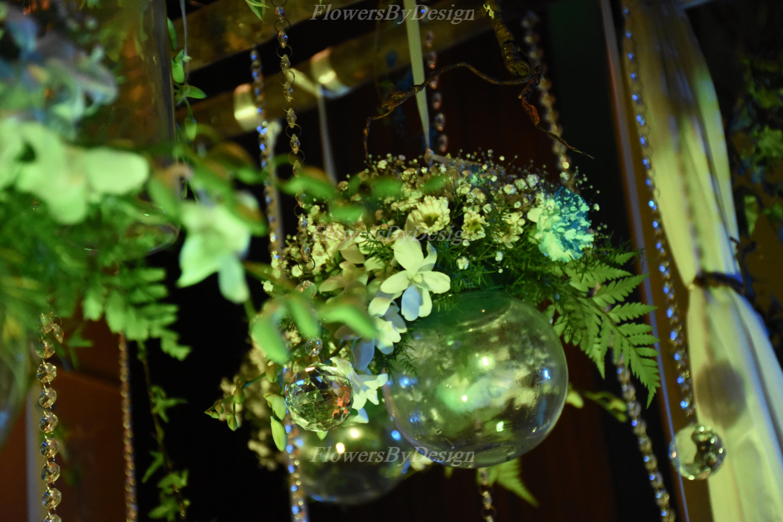 Garden Flower Pot Decoration In Marriage