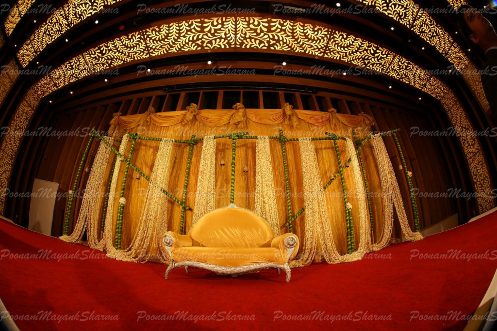 Wedding Stage Lighting - Flowers by design in Bangalore