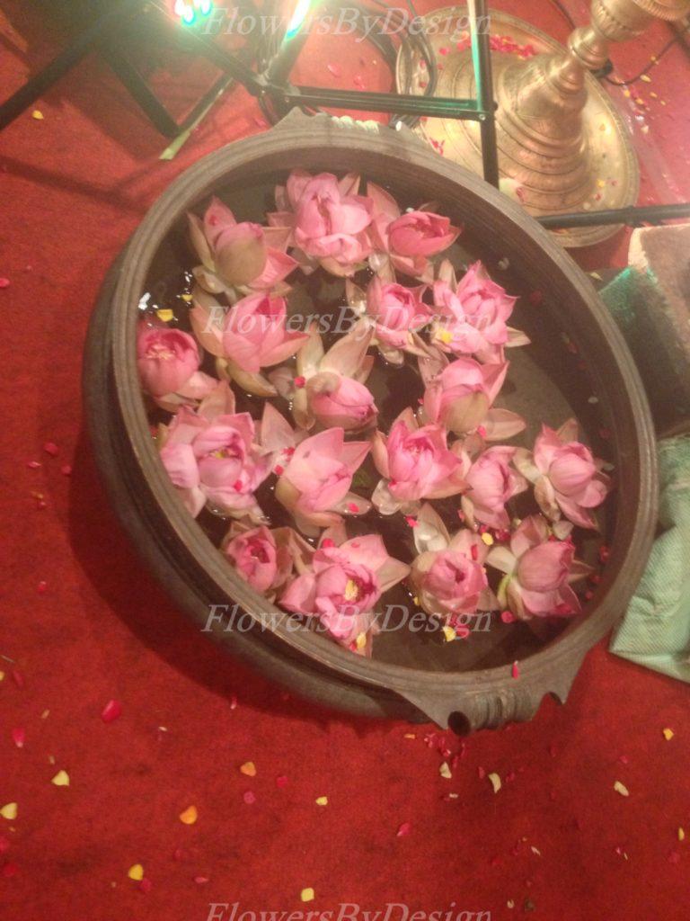Lotus Flower wedding Hall Decoration