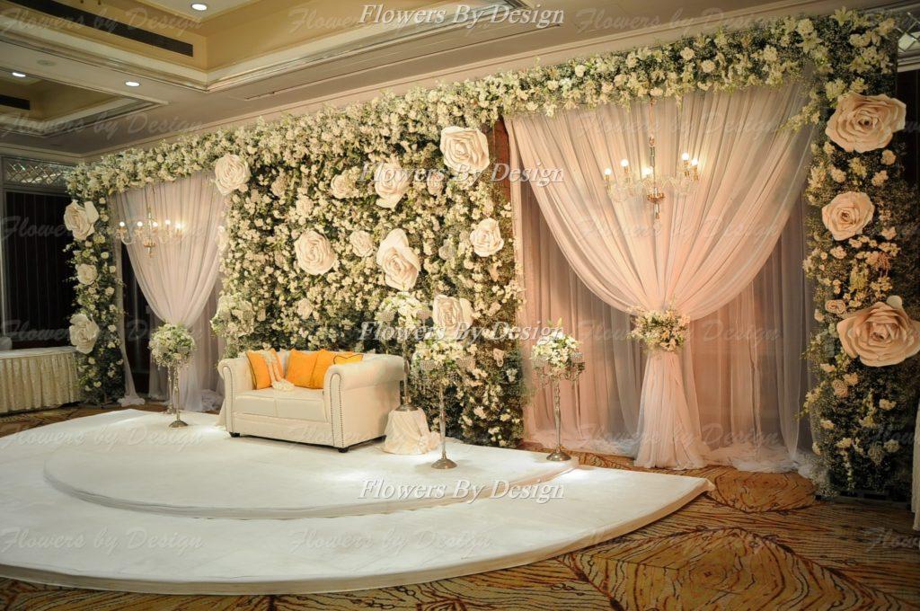 White Flower - Stage Flower Decoration