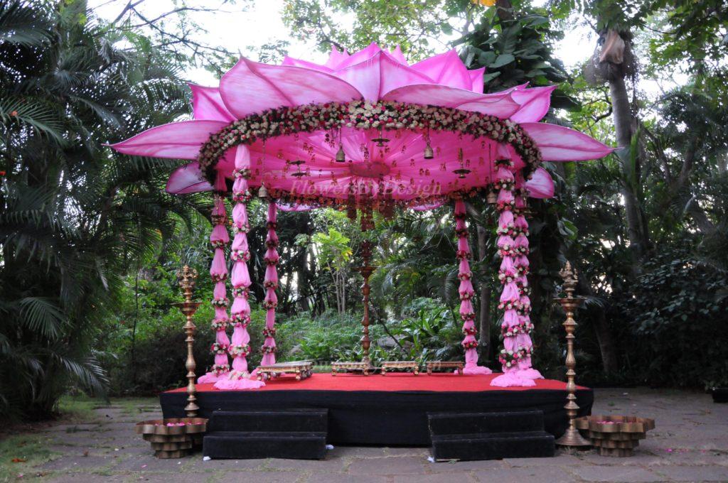 Pink Flower - Wedding Decorators in Bangalore