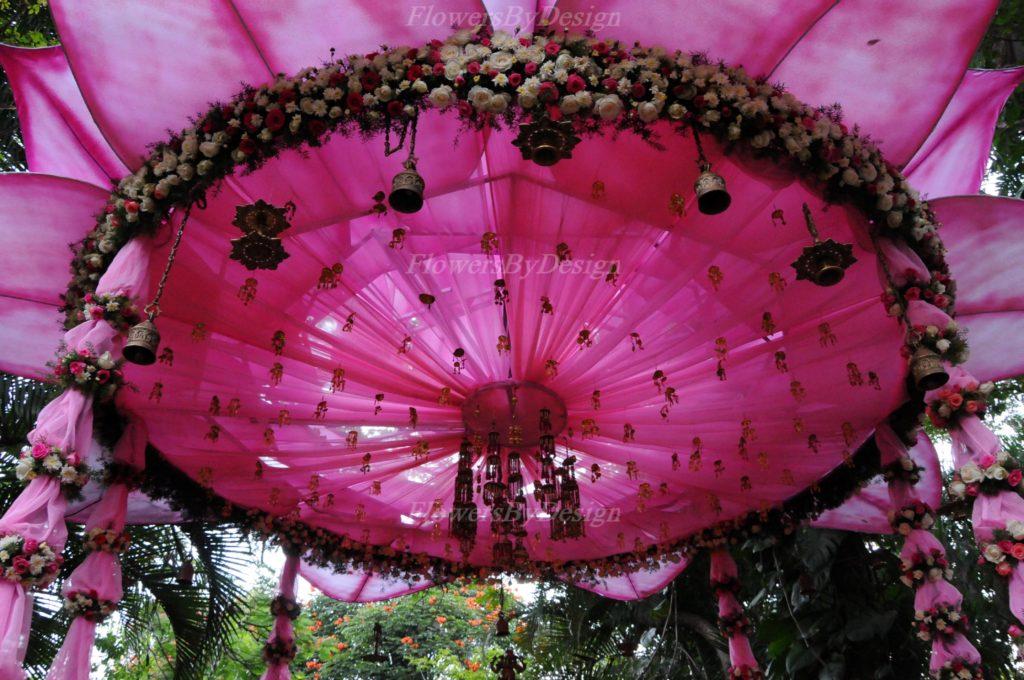 Garden Wedding Flower Decoration