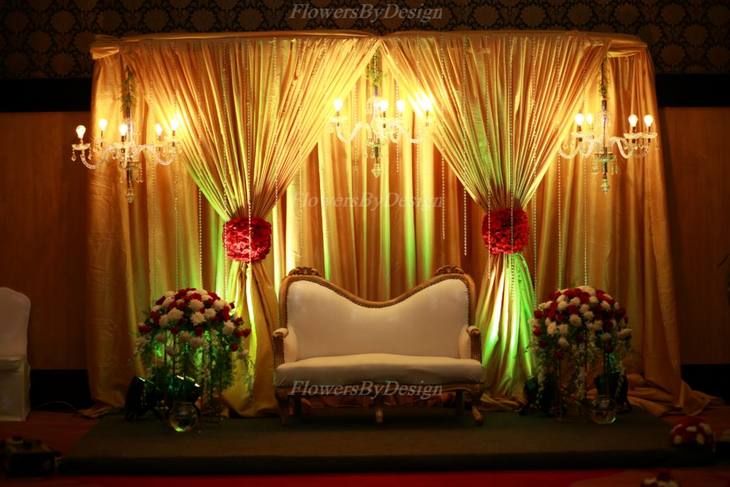 Lighting Stage Flower Decoration