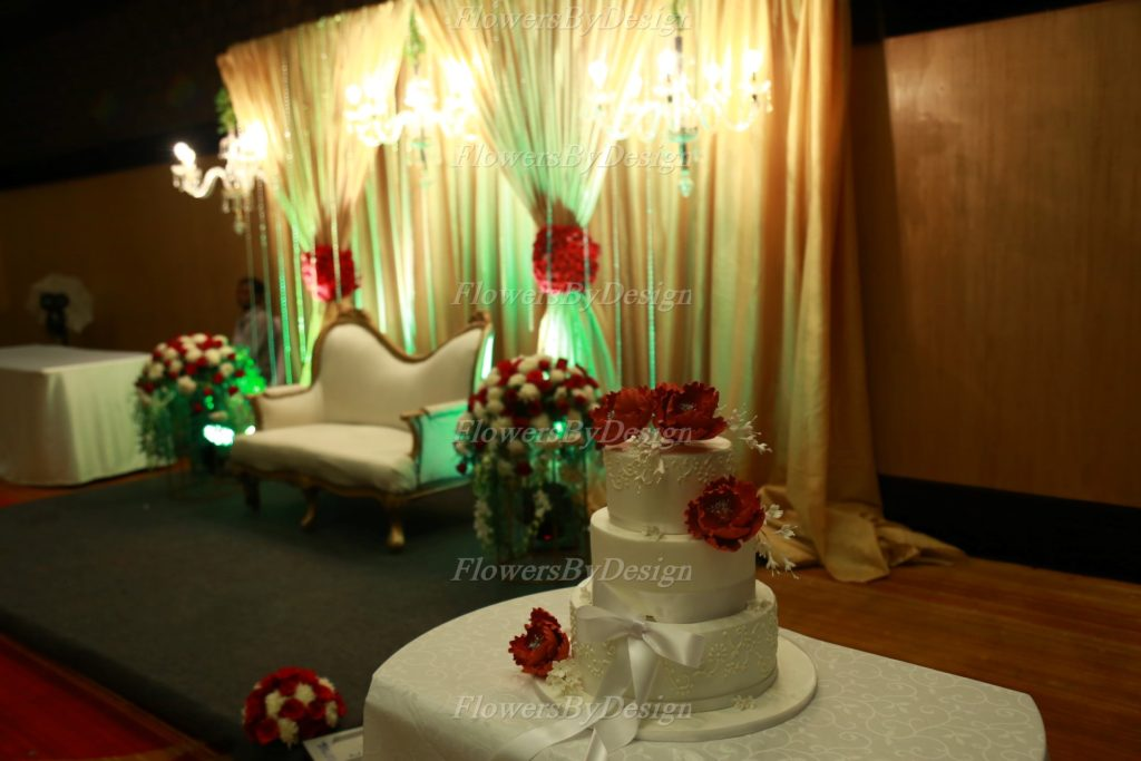 Indoor lighting Wedding Flower Decoration