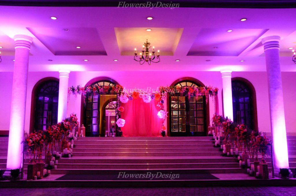 Entrance Wedding Flower Decorators in Bangalore