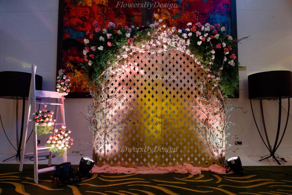 Outdoor Wedding Backdrop Decoration