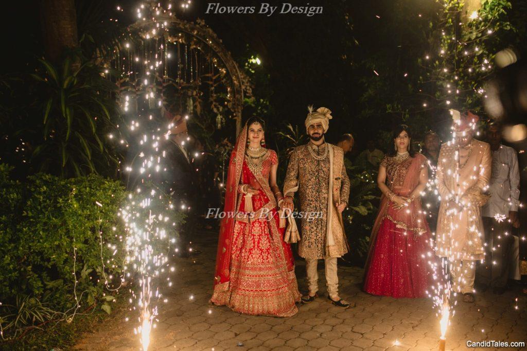 Couple Entry - Wedding Backdrop Decoration