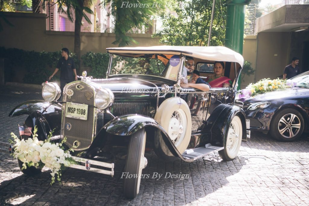 Wedding Car - Flowers by design in Bangalore