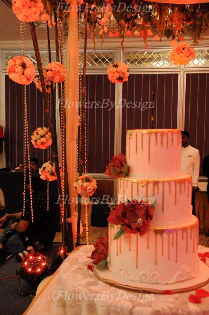 Wedding cake and Flower Decoration Bangalore