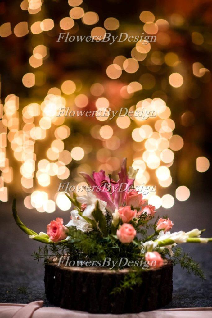 lighting Flower stand - Stage Flower Decoration