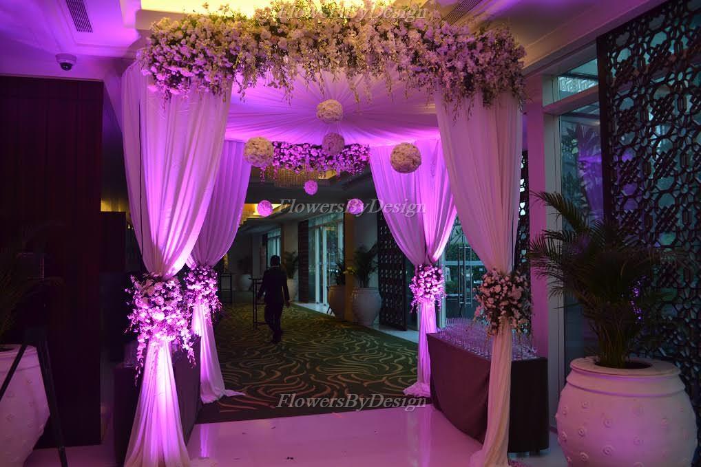 Wedding Mandap Entrance Flower Decoration in Bangalore