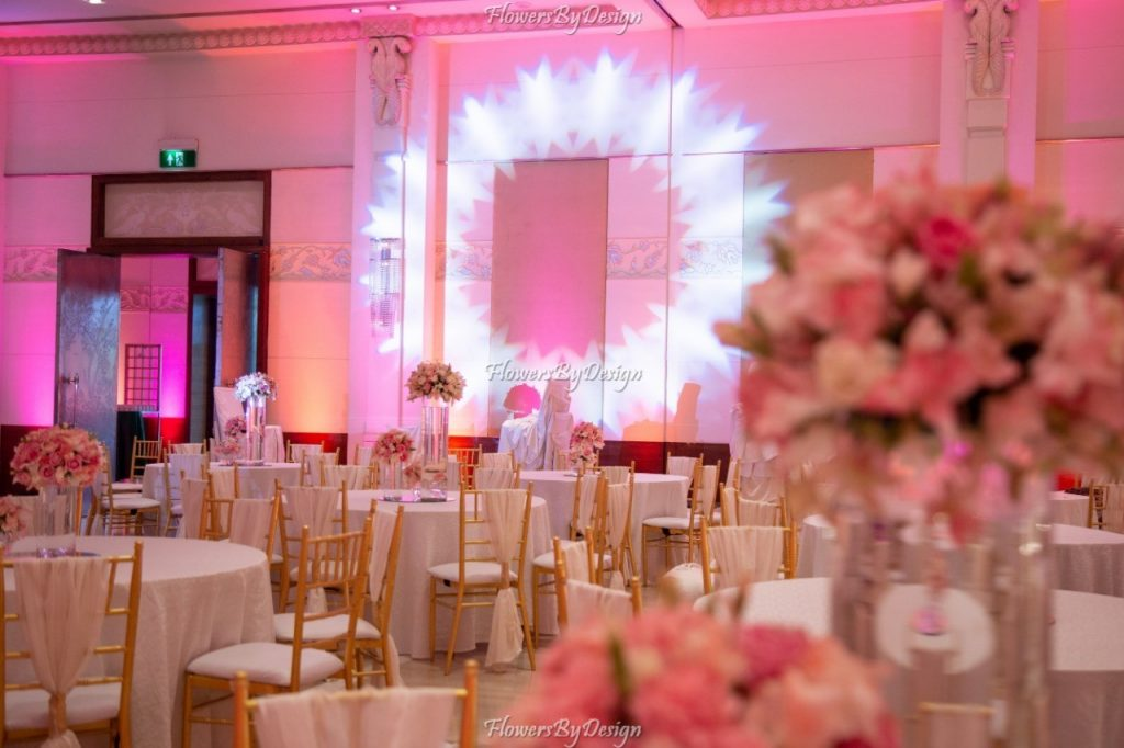 Entrance and Seating Stage - Flower Decoration