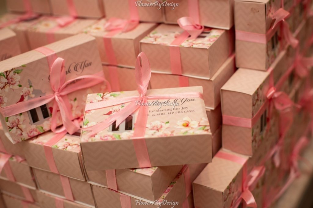 Gift Boxes Themes For Wedding - Flowers By Design
