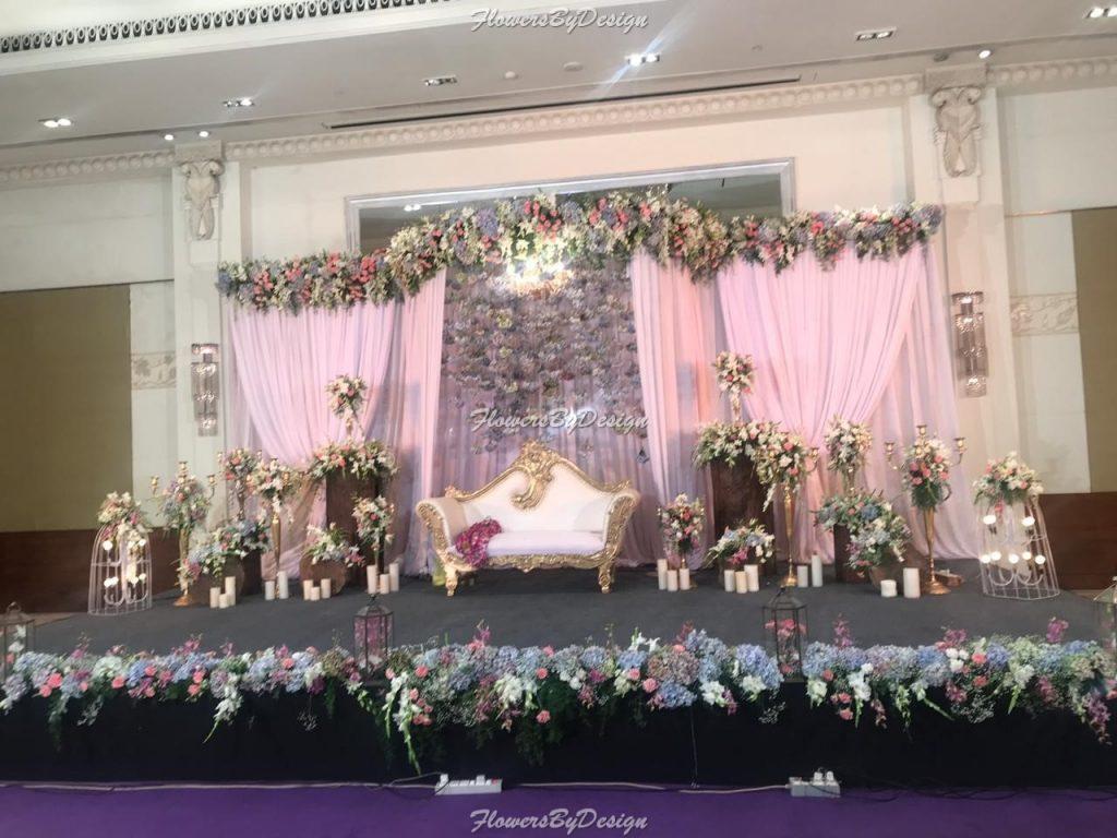 Stage Theme - Wedding Backdrop Decoration