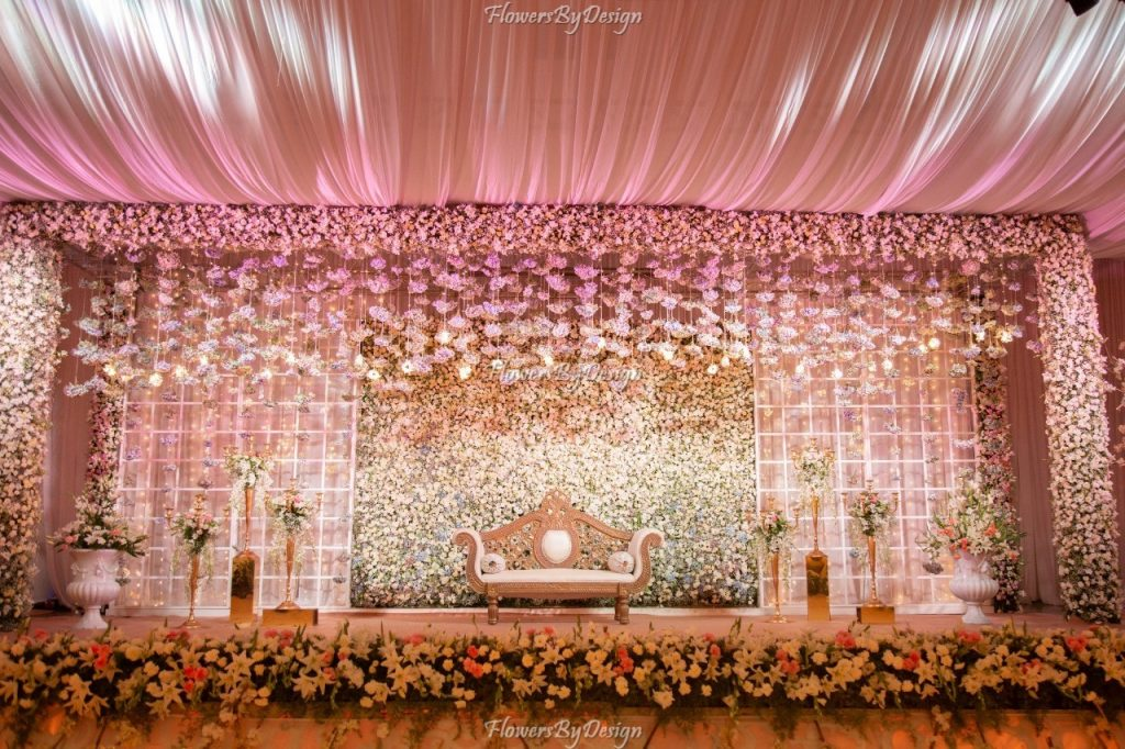 Front stage - Wedding Backdrop Decoration
