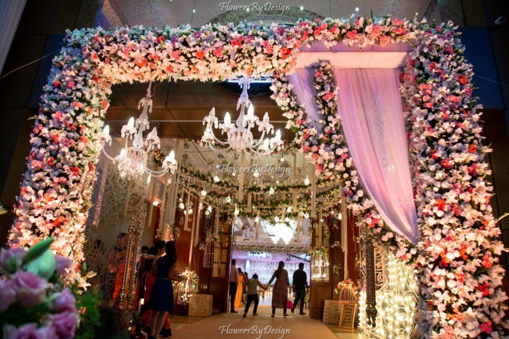 Entrance Flower Decoration in Bangalore
