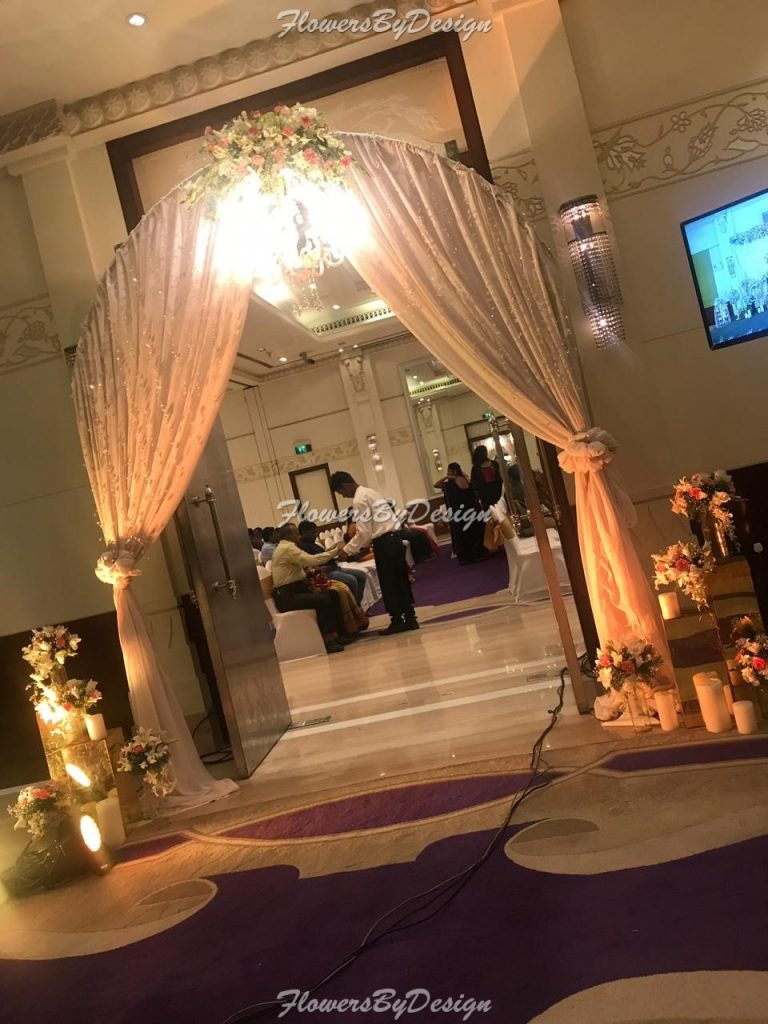 Seating Decoration - Wedding Flower Decoration