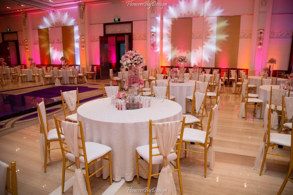Table and Seating arrangements for weddings