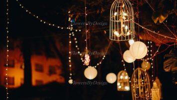 outdoor lighting - wedding Flower Decorators in Bangalore
