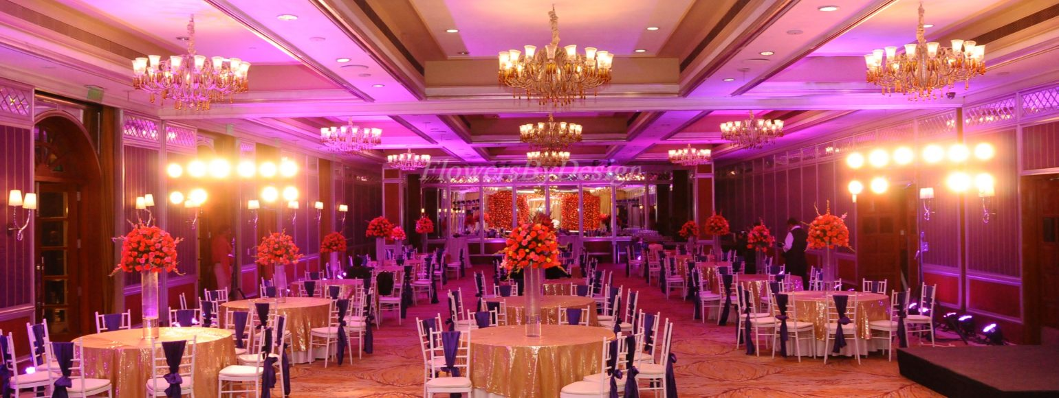 Wedding hall - Flowers by design in Bangalore